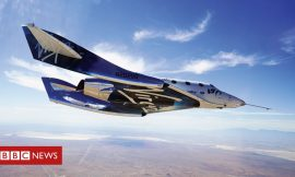 Space tourism: Virgin space plane set for first crewed flight