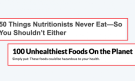"""""""Food Hate"""" Is The Problem"""