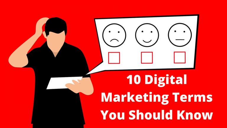 10 Digital Marketing Terms You Should Know